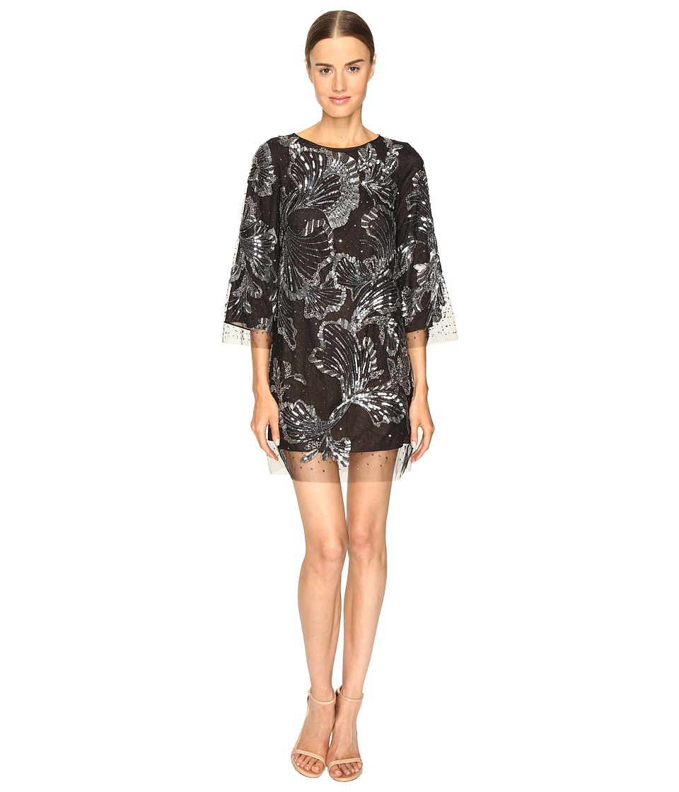 Marchesa Marchesa - Tunic in Tulle w/ Crystal and Beaded Embroidery