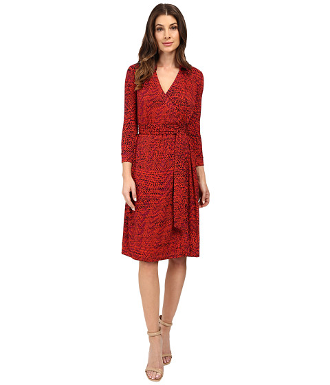 NIC+ZOE On Track Wrap Dress