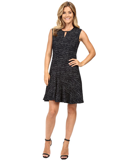 NIC+ZOE - Tweed Jacquard Dress (Multi) Women's Dress