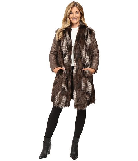 NIC+ZOE Faux Fur Puffer Jacket