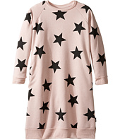 Nununu - Star Print A-Line Sweatshirt Dress (Little Kids/Big Kids)