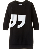 Nununu - Quotation Extra Soft A-Line Sweatshirt Dress (Infant/Toddler/Little Kids)