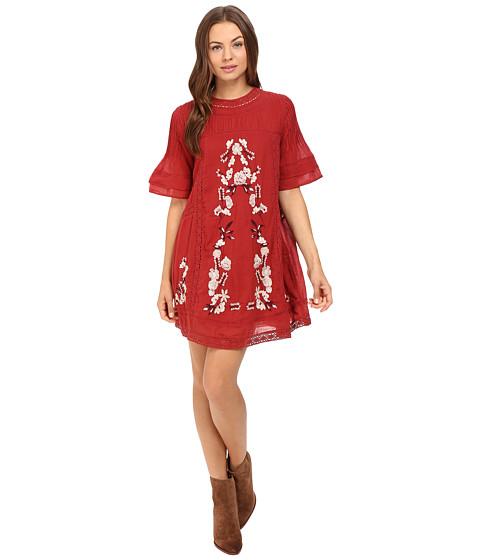 Free People Victorian Mini Dress - Red