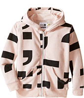 Nununu - Extra Soft Punctuation Screen Zip Hoodie (Infant/Toddler/Little Kids)