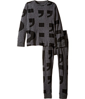 Nununu - Super Soft Punctuation Print Loungewear Set (Little Kids/Big Kids)