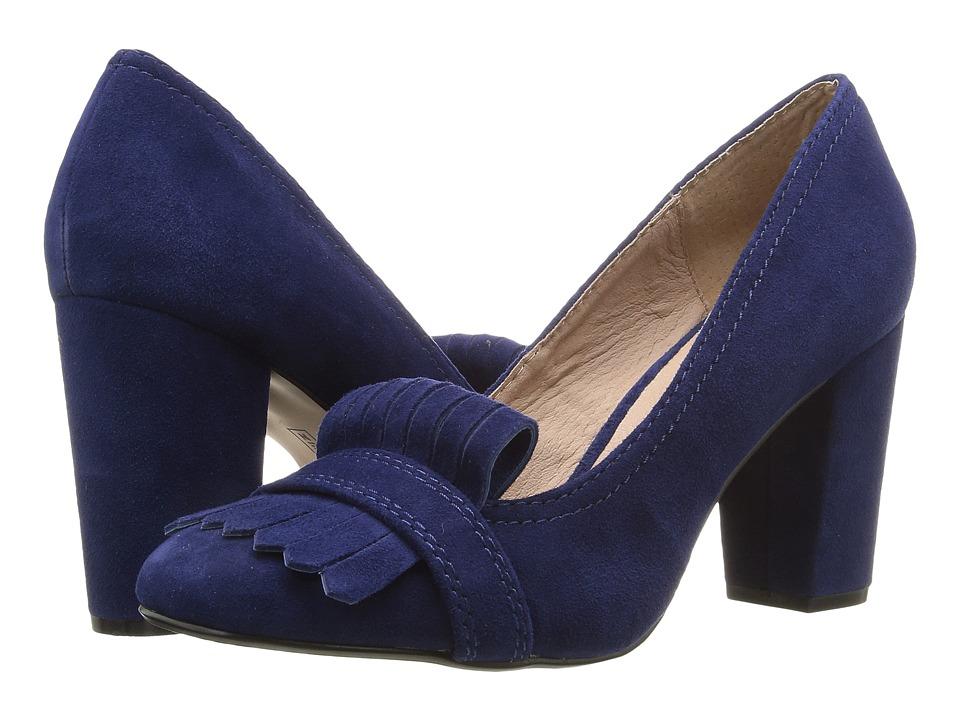 Steven Jade (Blue Suede) High Heels