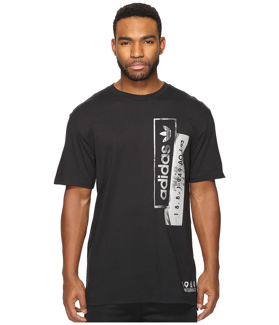 adidas Originals Linear Overlays (Black) Men