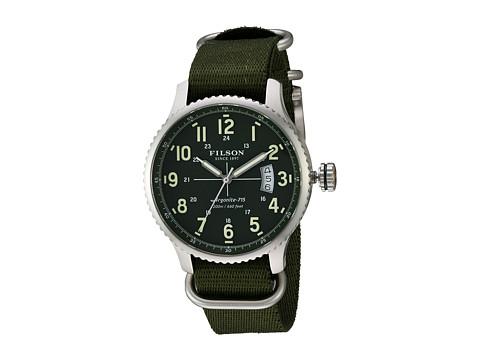 Filson Mackinaw Field Watch 43 mm - Green