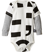 Nununu - Super Soft Punctuation Print One-Piece (Infant)
