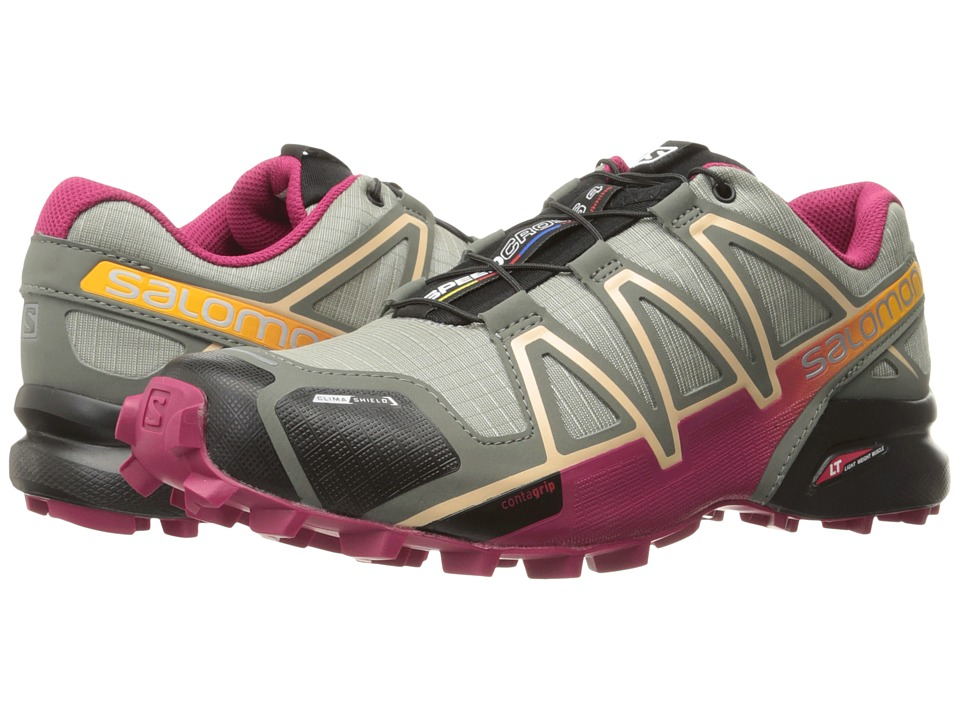 Salomon Speedcross 4 CS (Shadow/Sangria/Peach Nectar) Wom...