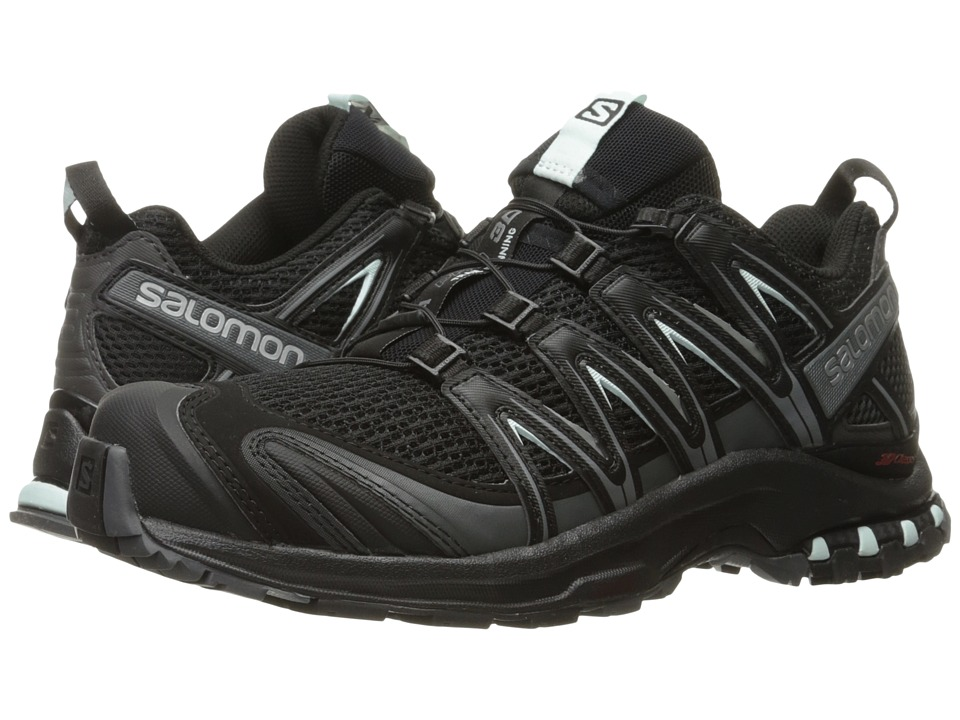 Salomon XA Pro 3D (Black/Magnet/Fair Aqua) Women's Runnin...