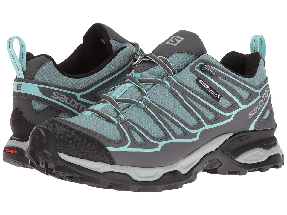 Salomon - X Ultra Prime CS WP (Artic/Magnet/Aruba Blue) Womens Shoes