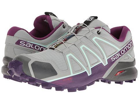 Salomon Speedcross 4 - Quarry/Acai/Fair Aqua