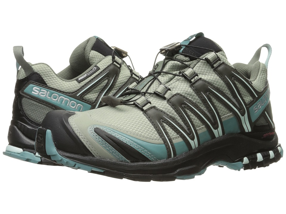 Salomon - XA PRO 3D CS WP (Shadow/Black/Artic) Womens Shoes