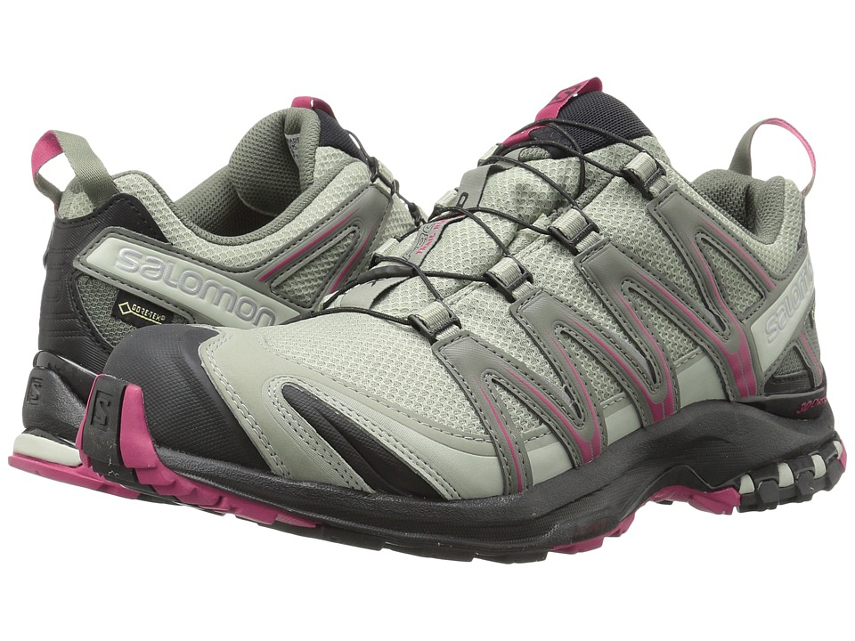 Salomon XA PRO 3D GTX(r) (Shadow/Black/Sangria) Women's S...