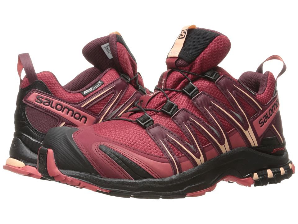 Salomon XA PRO 3D CS WP (Tibetan Red/Black/Mineral Red) Women