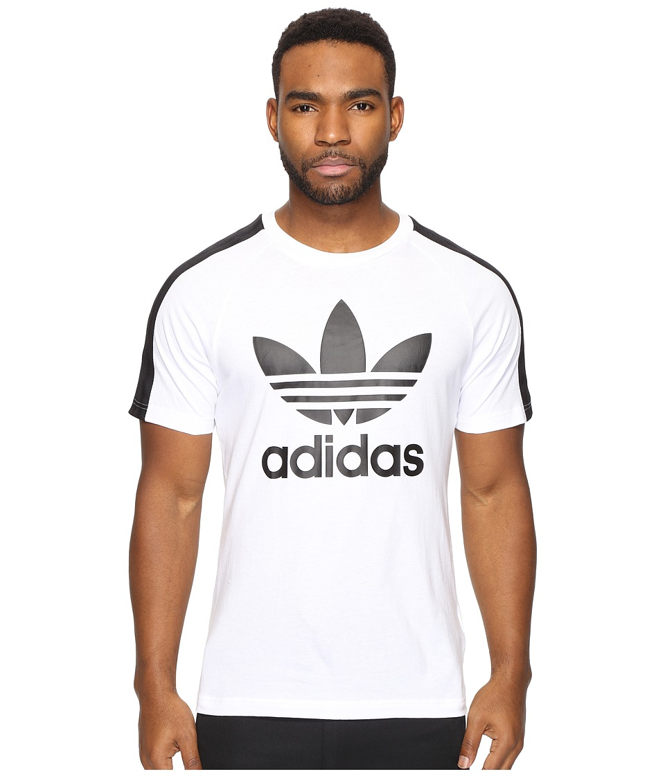 adidas Originals Berlin Short Sleeve Tee (White) Men