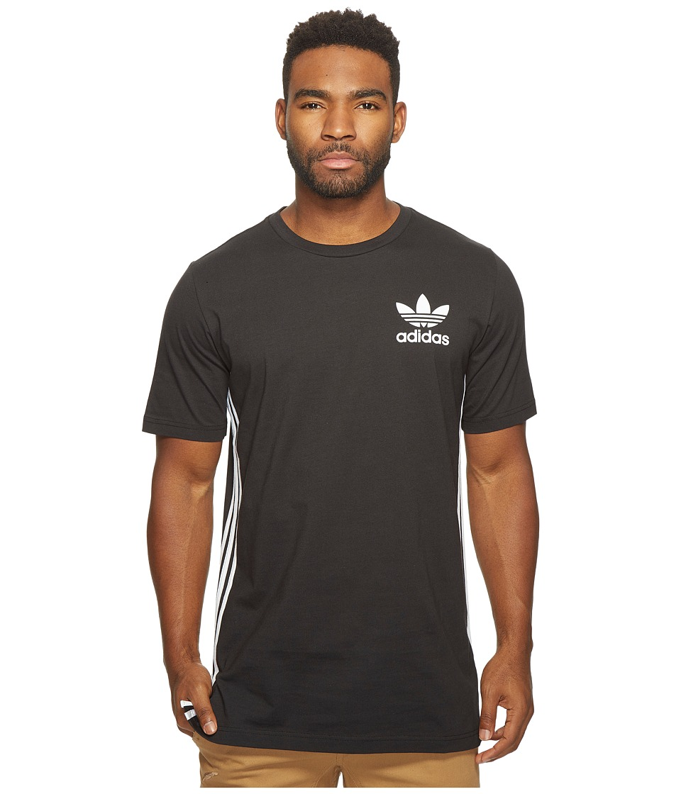 adidas Originals Elongated Tee (Black) Men