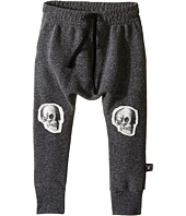 Nununu - Extra Soft Baggy Pants with Skull Knee Patches (Toddler/Little Kids)