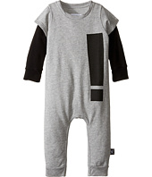 Nununu - Extra Soft French Terry Exclamation Playsuit (Infant)