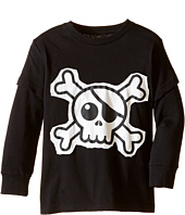 Nununu - Super Soft Skull Patch T-Shirt (Infant/Toddler/Little Kids)