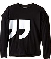 Nununu - Super Soft Quotation T-Shirt (Little Kids/Big Kids)