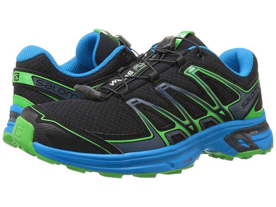 Salomon Wings Flyte 2 (Black/Cloisonne/Classic Green) Men