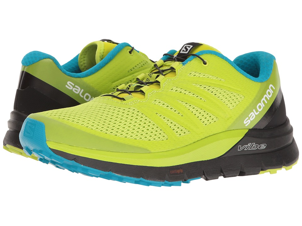Salomon Sense Pro Max (Lime Punch/Black/Hawaiian Ocean) Men