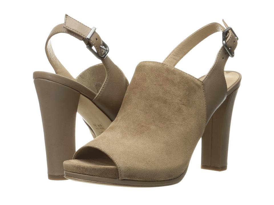 Via Spiga Cara (Dark Taupe Coco Sport Suede) High Heels
