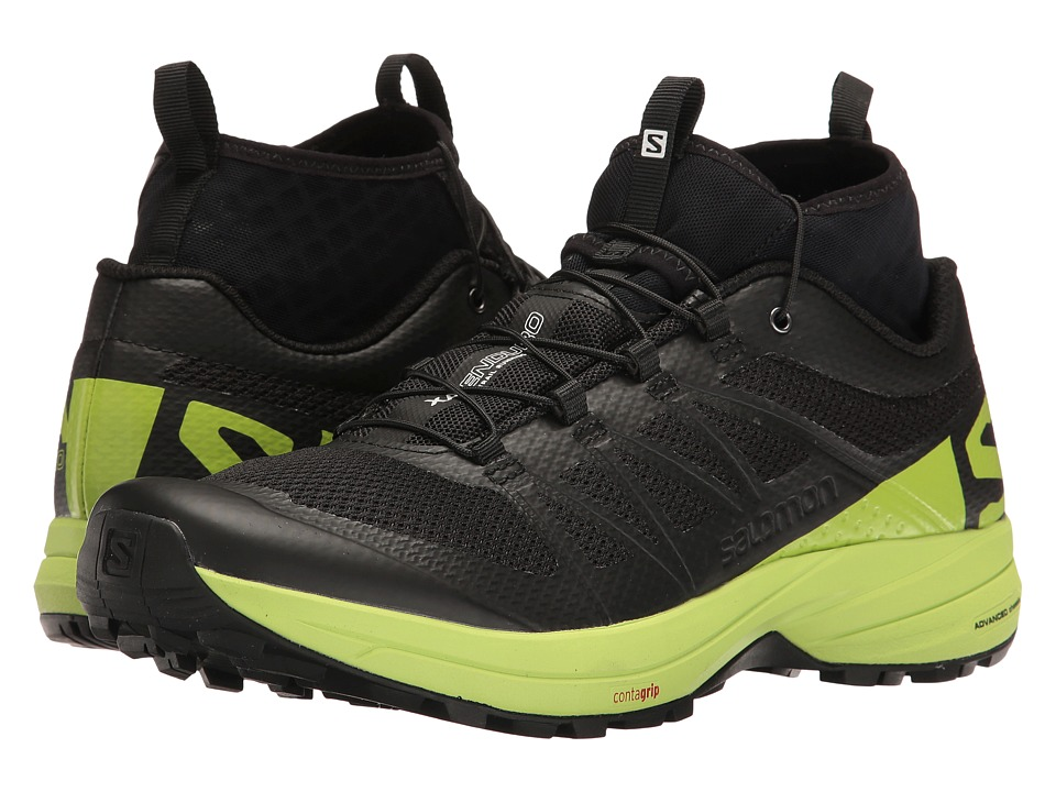 Salomon XA Enduro (Black/Lime Green/Black) Men