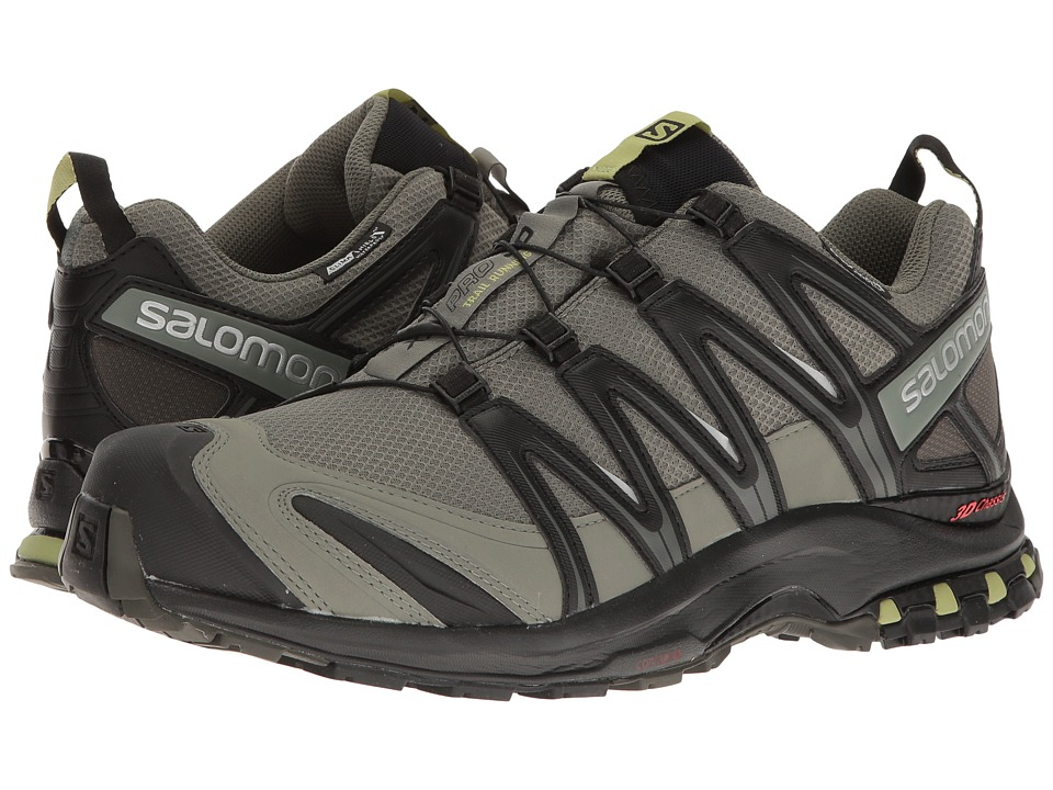 Salomon - XA PRO 3D CS WP (Castor Gray/Black/Fern) Mens Shoes