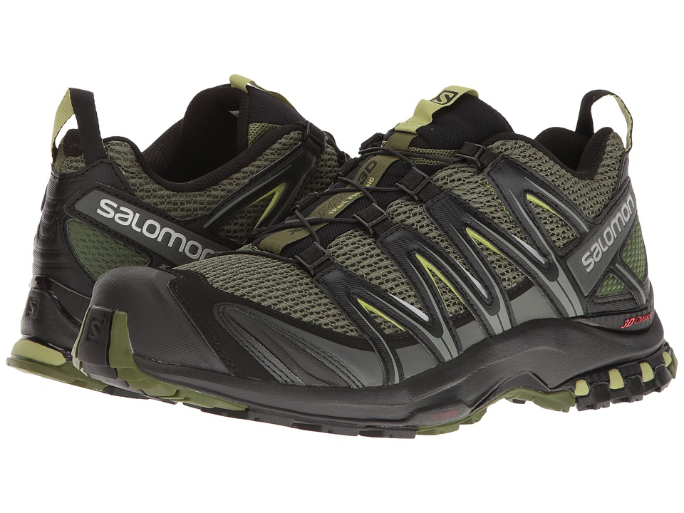 Salomon - XA Pro 3D (Chive/Black/Beluga) Mens Shoes