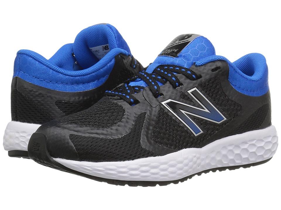 New Balance Kids KJ720v4 (Little Kid/Big Kid) (Black/Blue) Boys Shoes