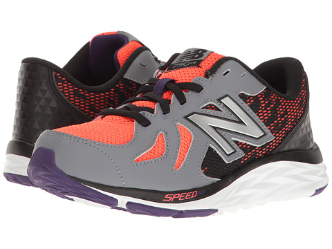 New Balance Kids KJ790v6 (Little Kid/Big Kid) - Orange/Grey