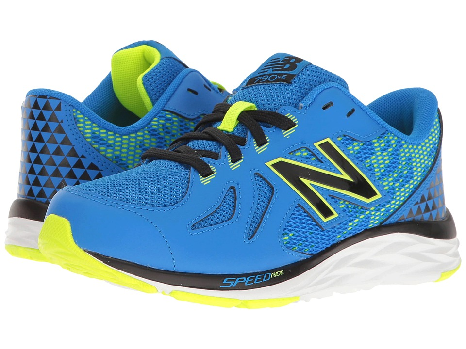 New Balance Kids KJ790v6 (Little Kid/Big Kid) (Blue/Green) Boys Shoes