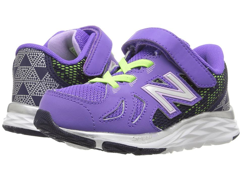 New Balance Kids KV790v6 (Infant/Toddler) (Purple/Blue) Girls Shoes