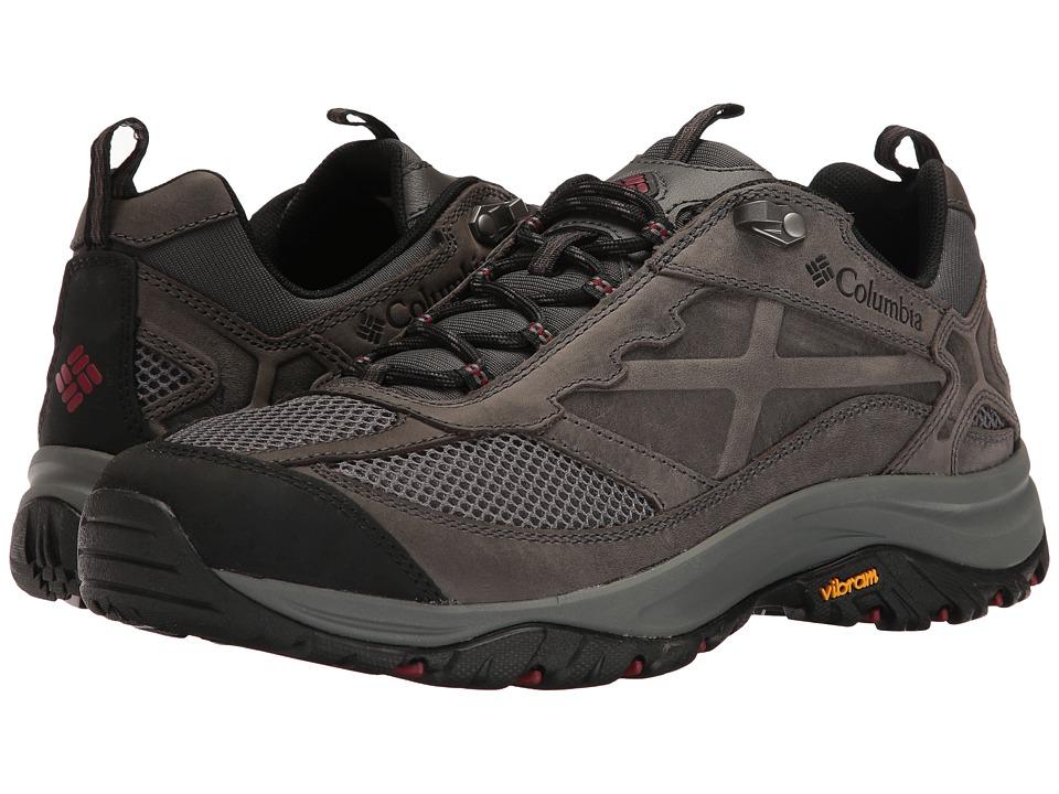 Columbia Terrebonne (Dark Grey/Red Element) Men's Shoes