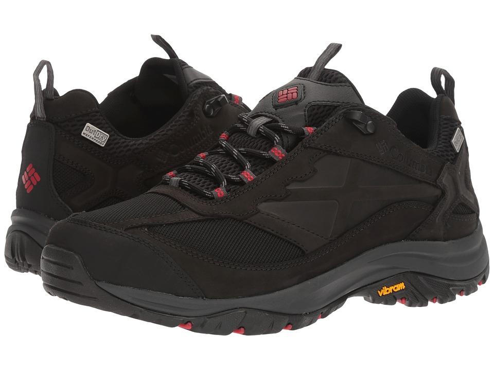 Columbia Terrebonne Outdry (Black/Mountain Red) Men's Shoes