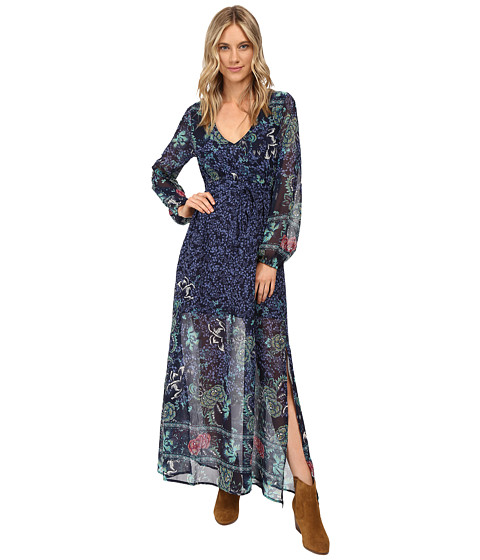 Billabong - Dreaming Away Maxi Dress (Peacoat) Women's Dress