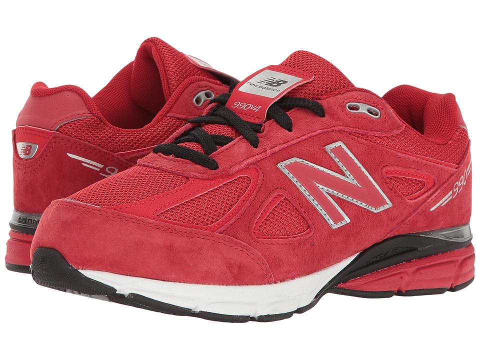 New Balance Kids KJ990v4 (Big Kid) (Red/Red) Boys Shoes