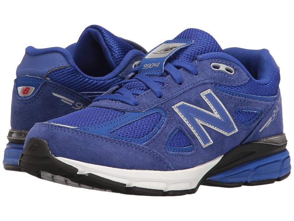 New Balance Kids KJ990v4 (Big Kid) (Blue/Blue) Boys Shoes