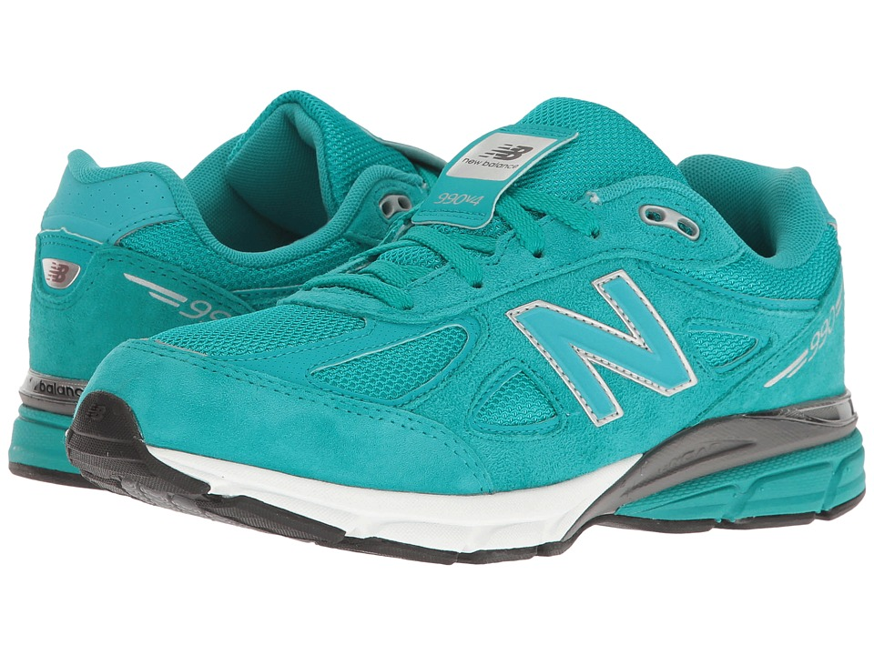 New Balance Kids KJ990v4 (Big Kid) (Teal/Teal) Boys Shoes