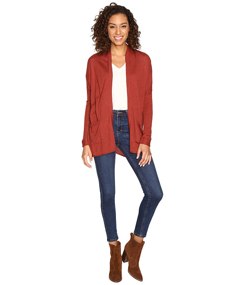 Billabong Outside The Lines Cardigan - Henna