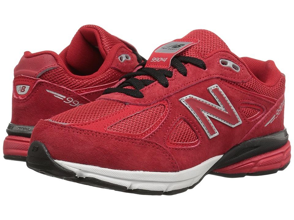 New Balance Kids KJ990v4 (Little Kid) (Red/Red) Boys Shoes