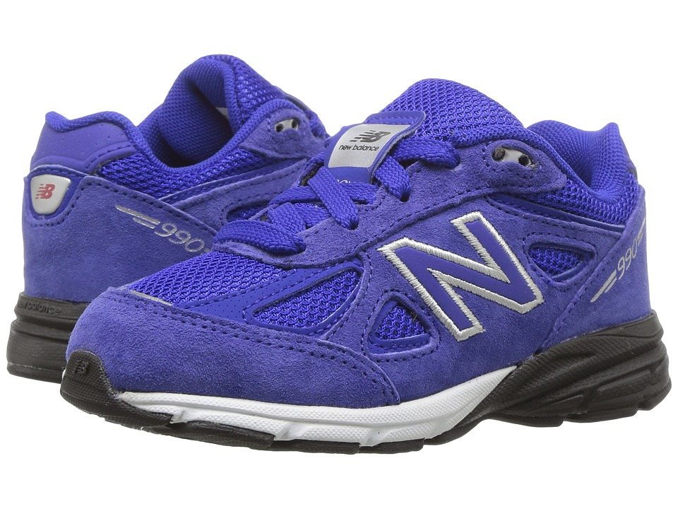 New Balance Kids KJ990v4 (Infant/Toddler) (Blue/Blue) Boys Shoes