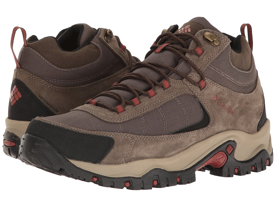 Columbia Granite Ridge Mid Waterproof (Mud/Rusty) Men's Shoes