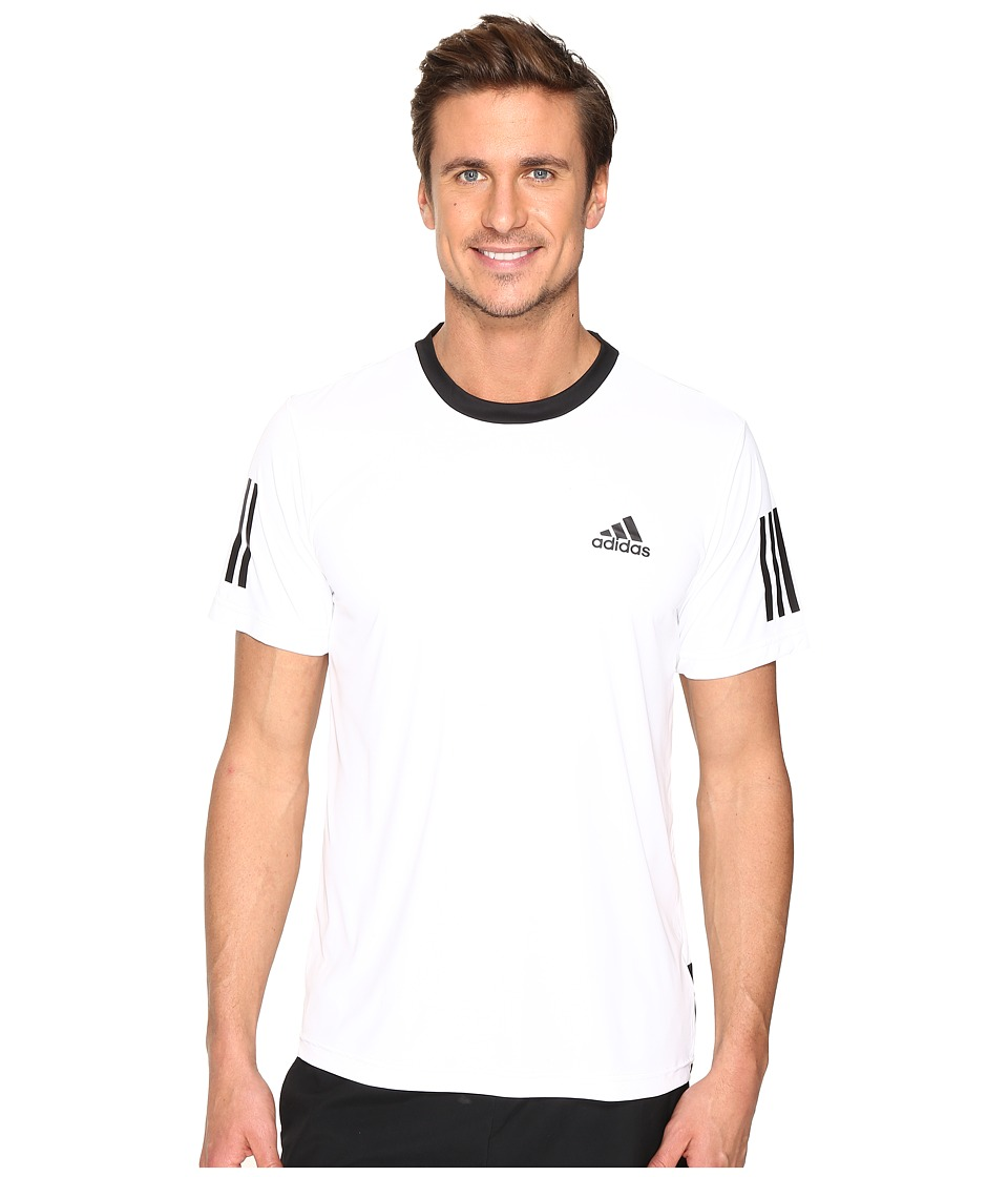 adidas Club Tee (White/Black/Grey) Men