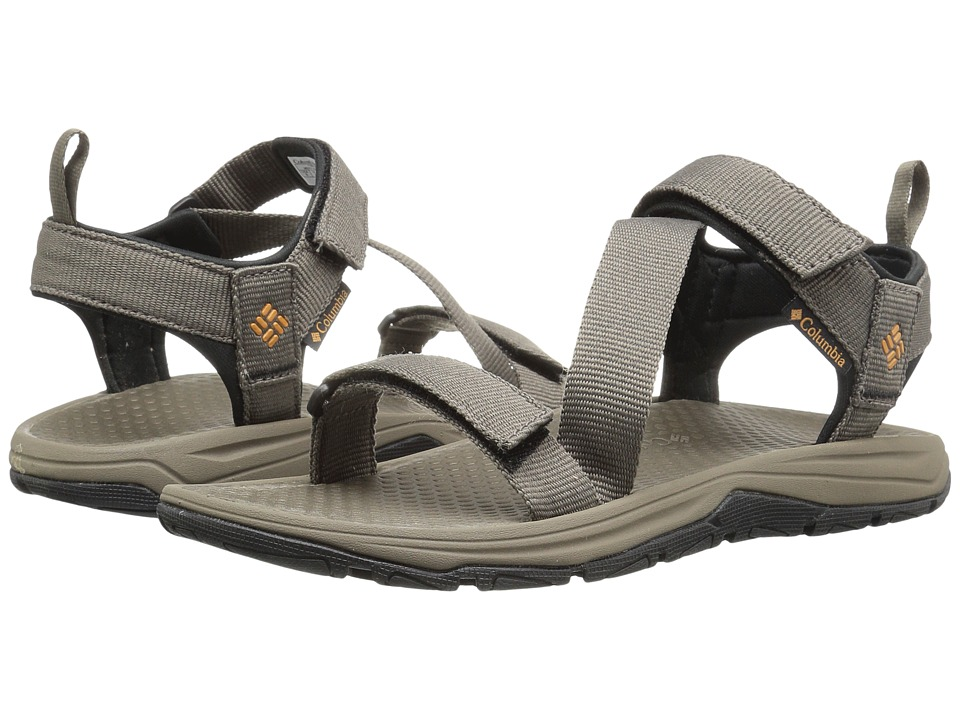 Columbia - Wave Train (Mud/Canyon Gold) Men's Sandals