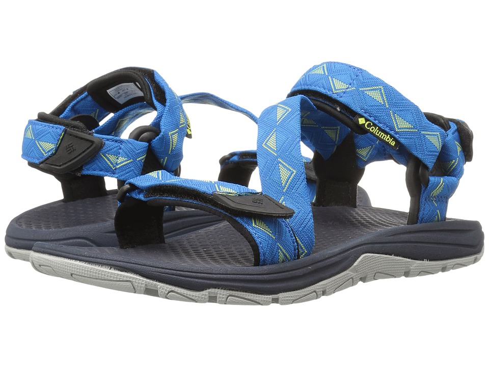 Columbia - Big Water (Static Blue/Zour) Men's Sandals