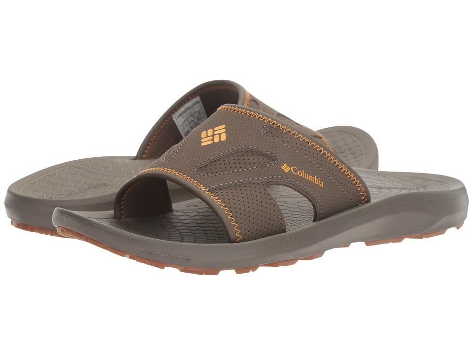 Columbia Techsun Slide (Mud/Squash) Men's Slide Shoes